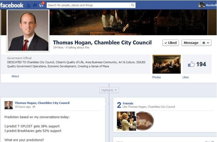Tom Hogan Facebook